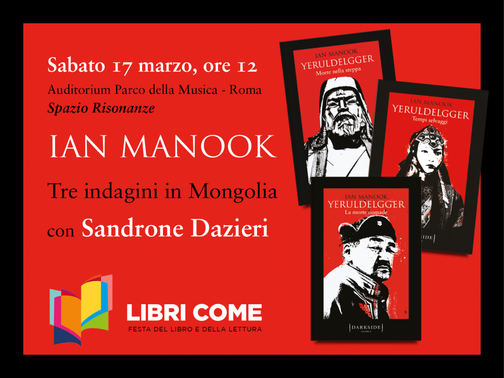 manook libri come